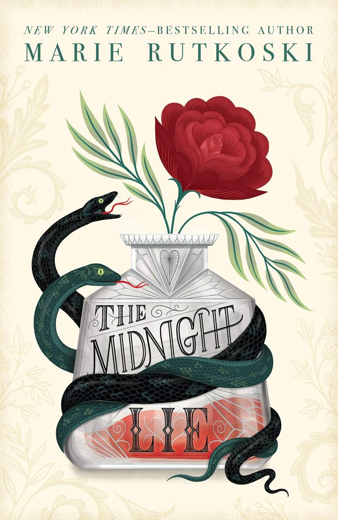 The cover of The Midnight Lie is stunning.